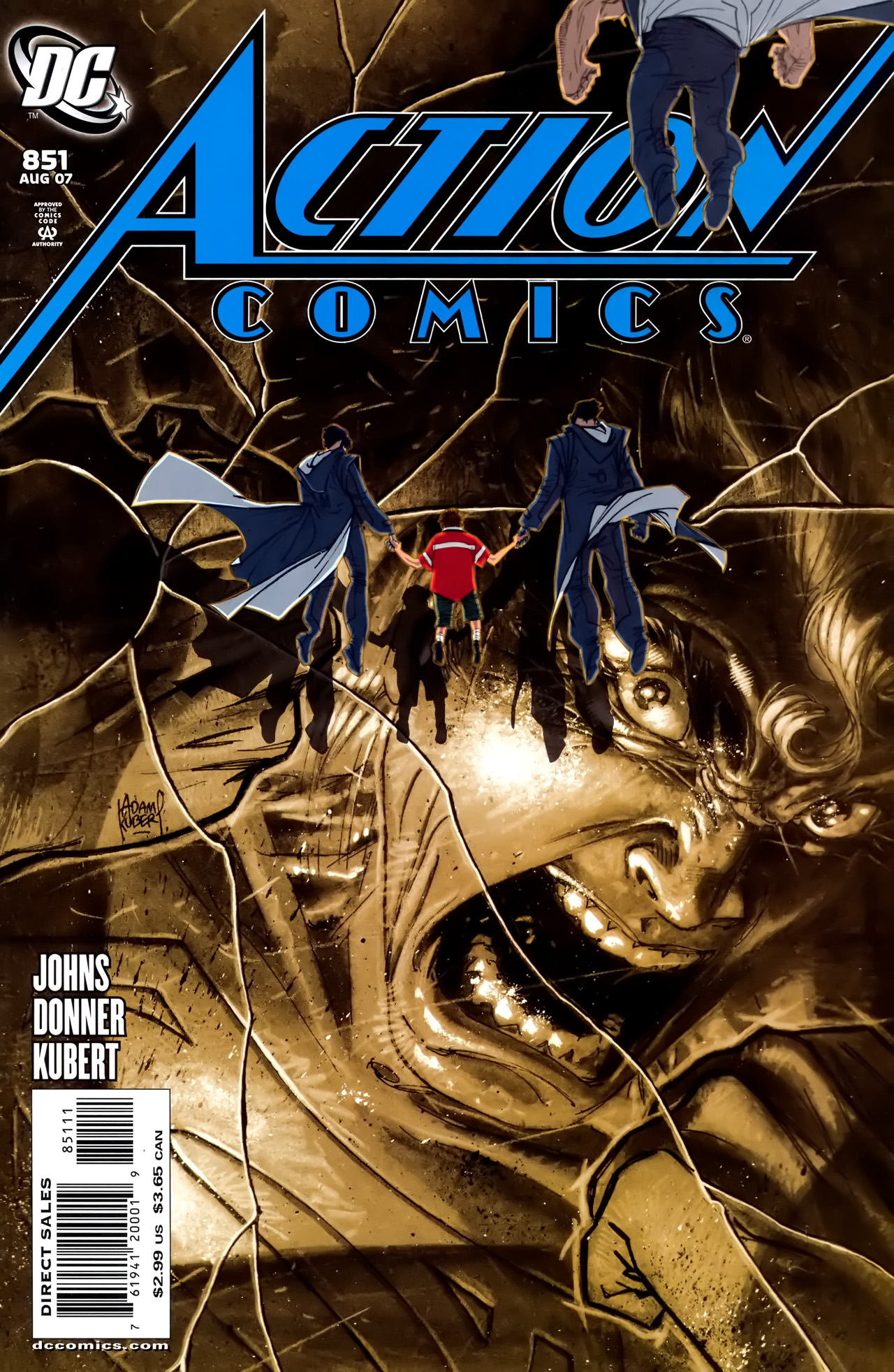 Action Comics (1938) 851 Page 1