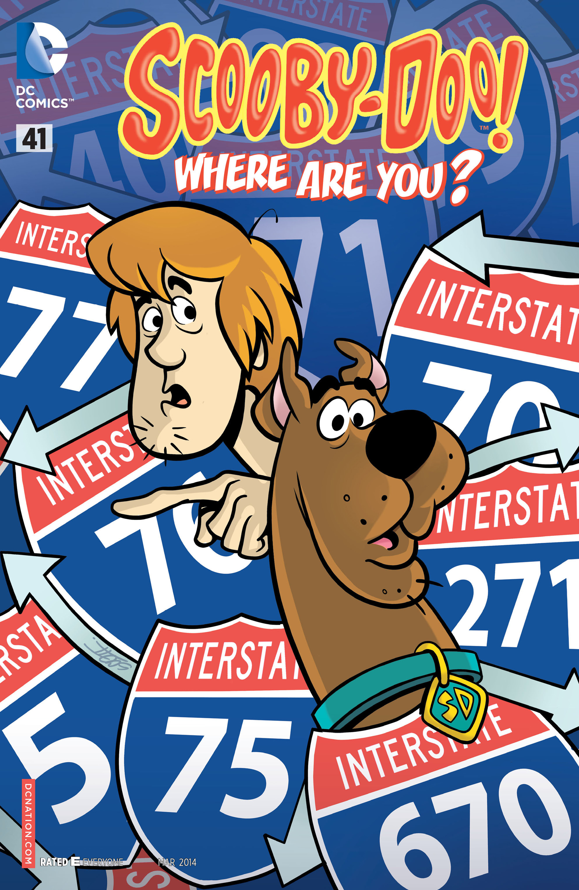 Read online Scooby-Doo: Where Are You? comic -  Issue #41 - 1
