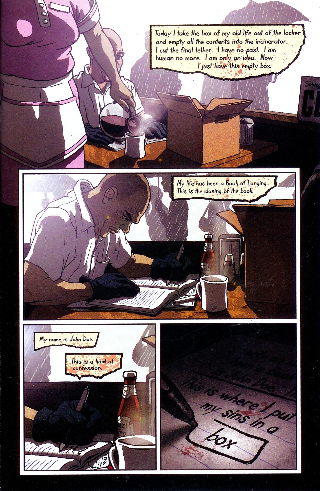 Read online Se7en comic -  Issue #6 - 21