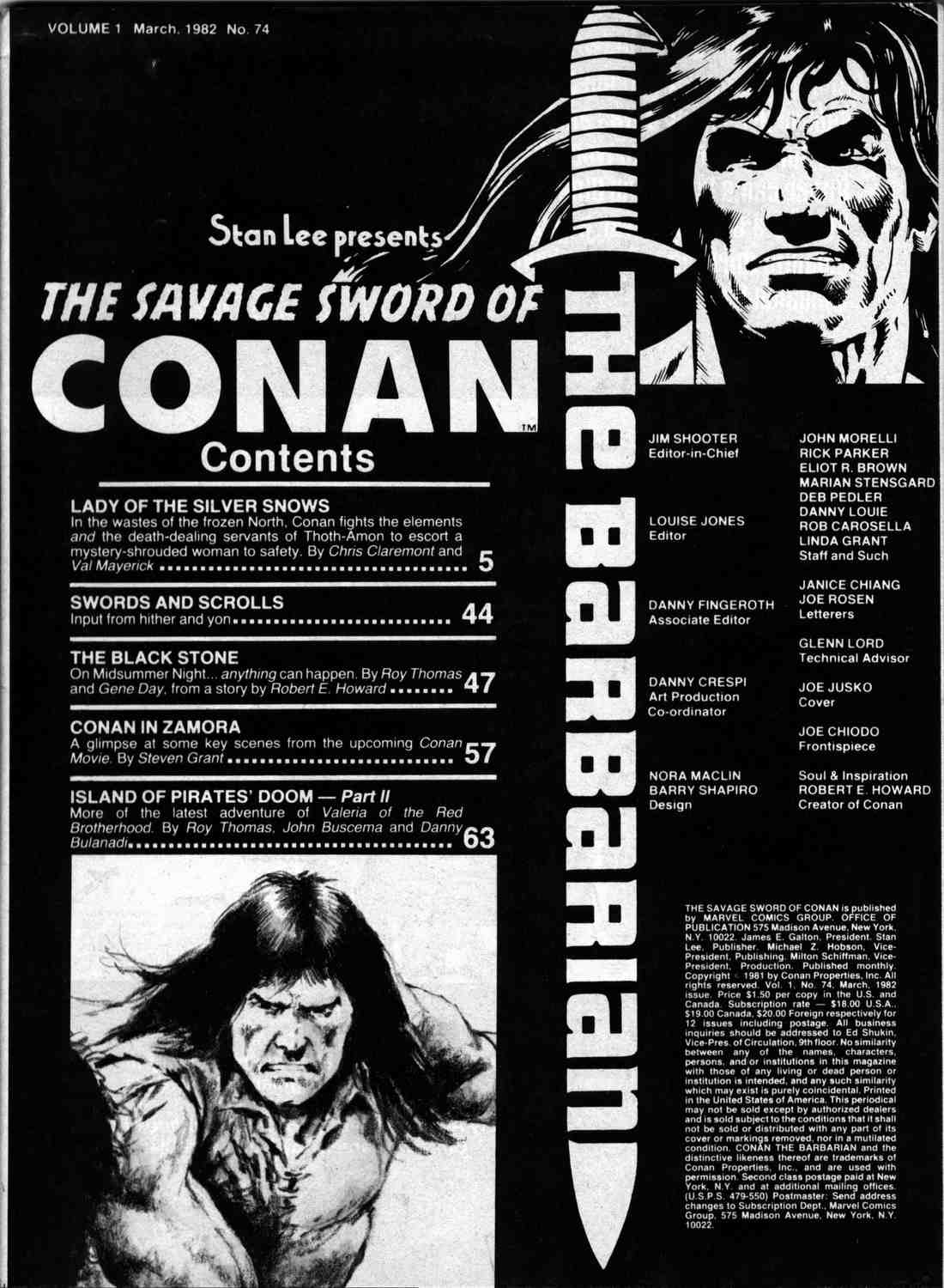 The Savage Sword Of Conan Issue #74 #75 - English 2