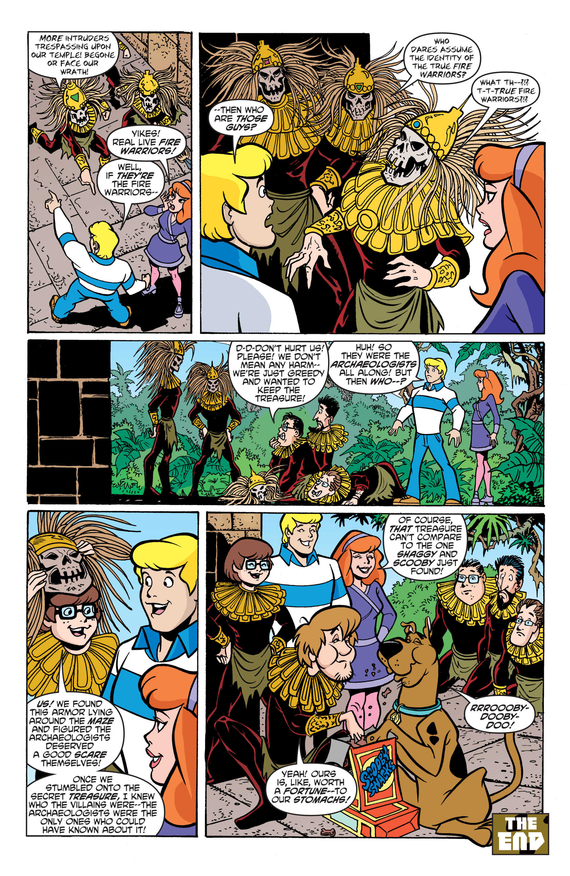 Read online Scooby-Doo: Where Are You? comic -  Issue #59 - 19