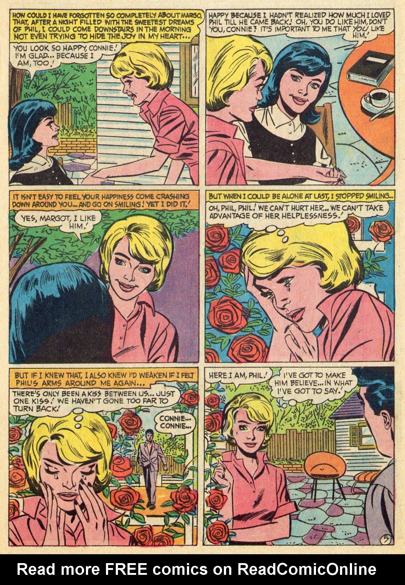 Read online Secret Hearts comic -  Issue #119 - 13
