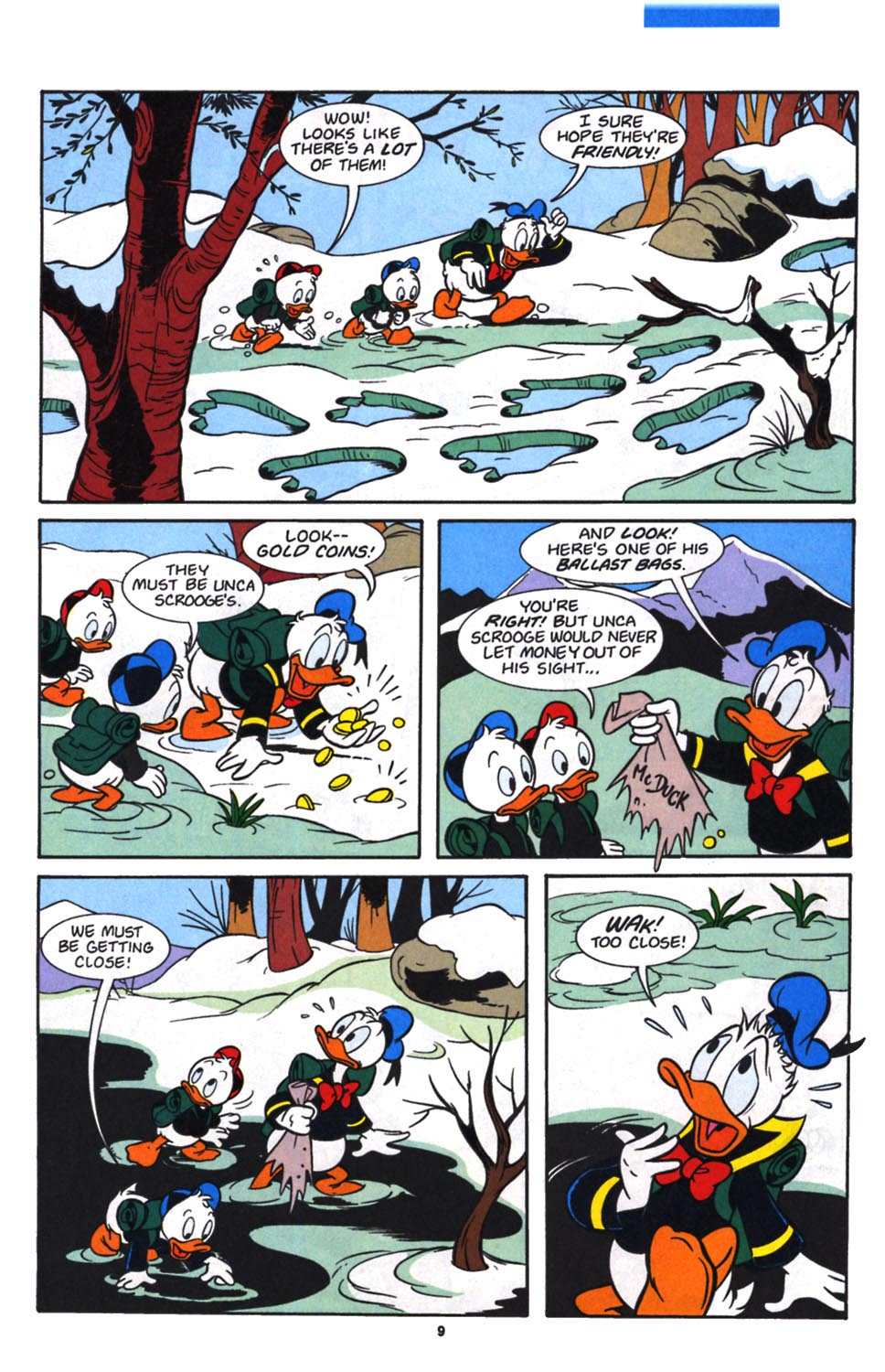 Uncle Scrooge (1953) Issue #257 #257 - English 11