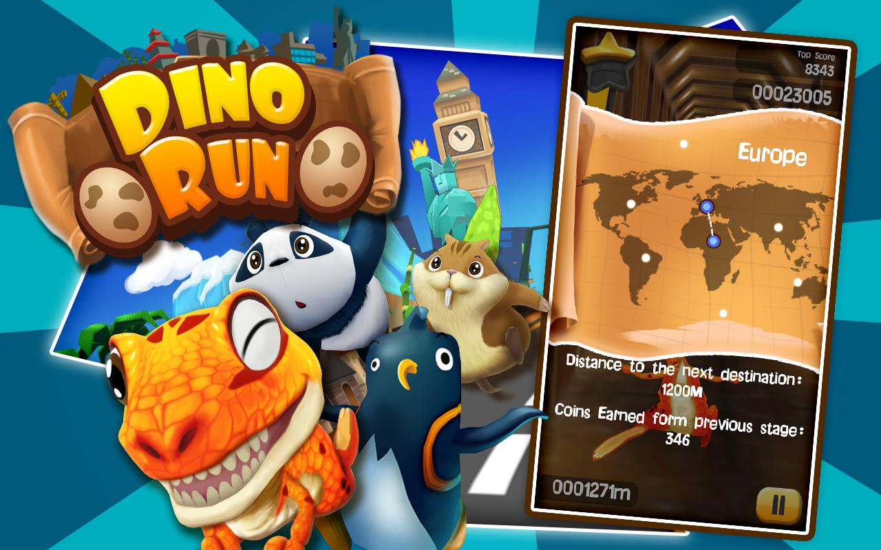 Dino Run: Jurassic Escape Apk v1.2.1