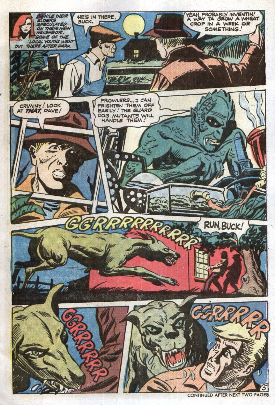 Read online Scary Tales comic -  Issue #6 - 21