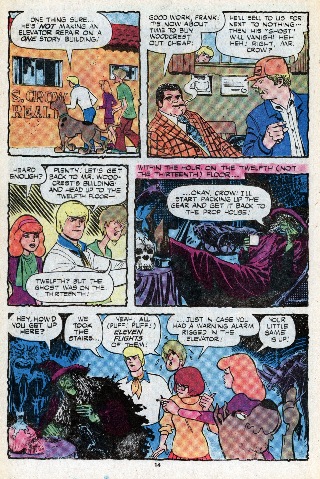 Read online Scooby-Doo (1977) comic -  Issue #5 - 16