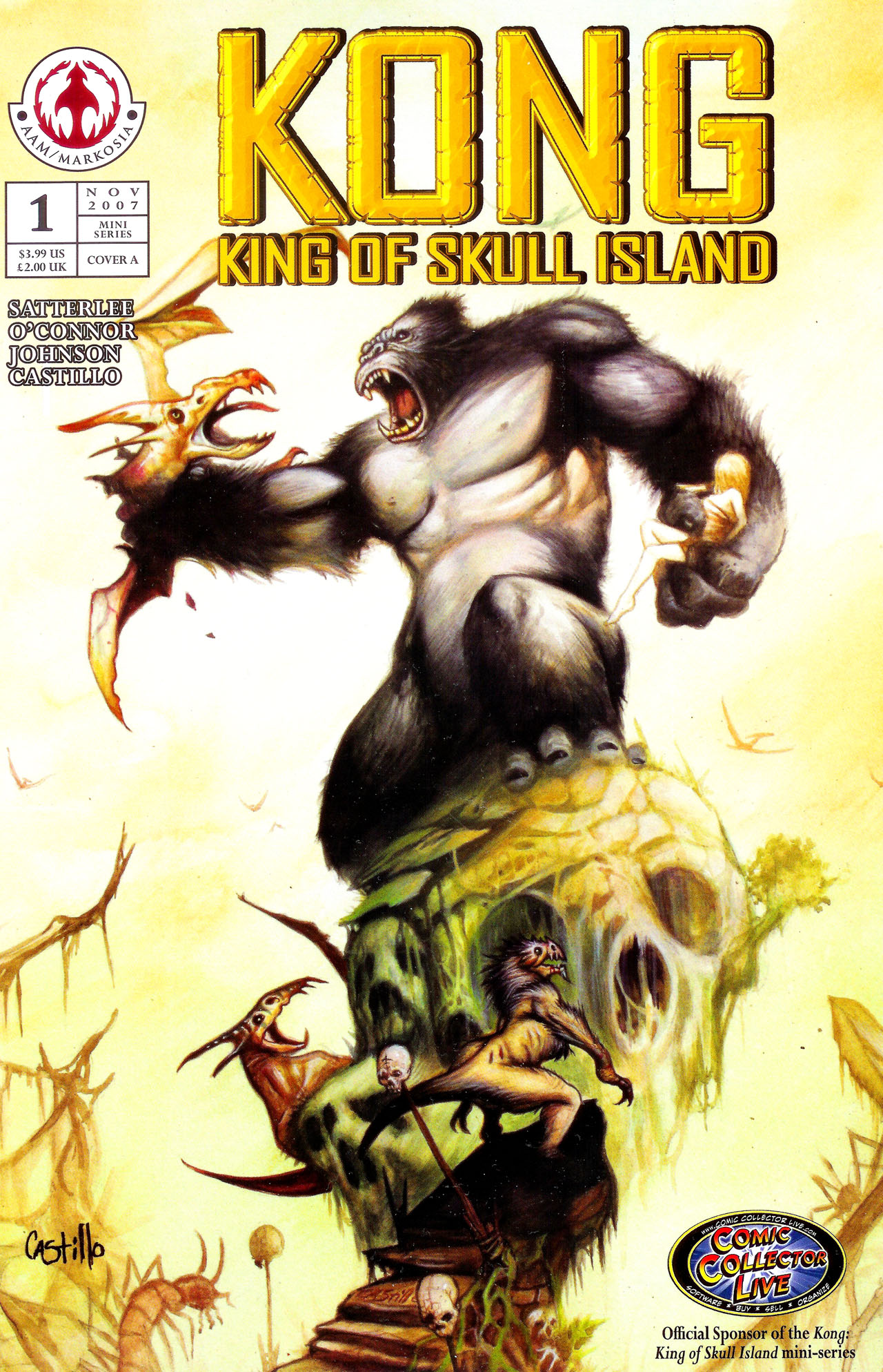 Read online Kong: King Of Skull Island comic -  Issue #1 - 1