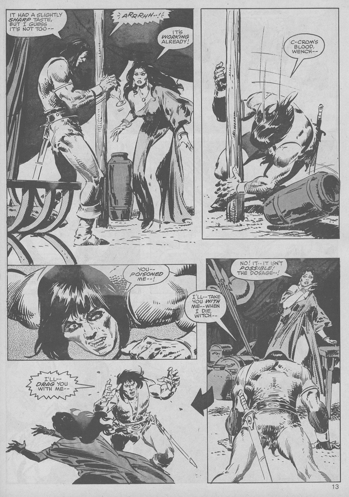 The Savage Sword Of Conan Issue #50 #51 - English 13