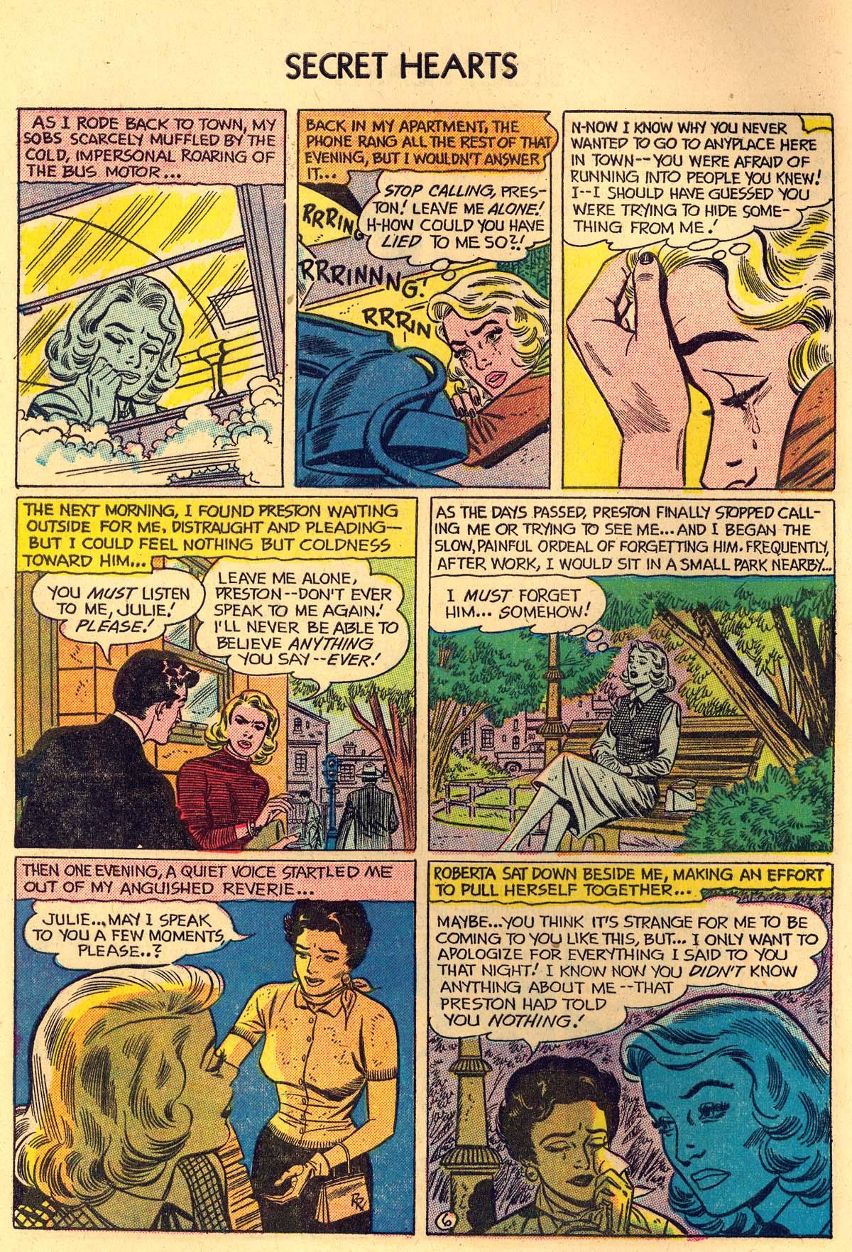 Read online Secret Hearts comic -  Issue #35 - 8