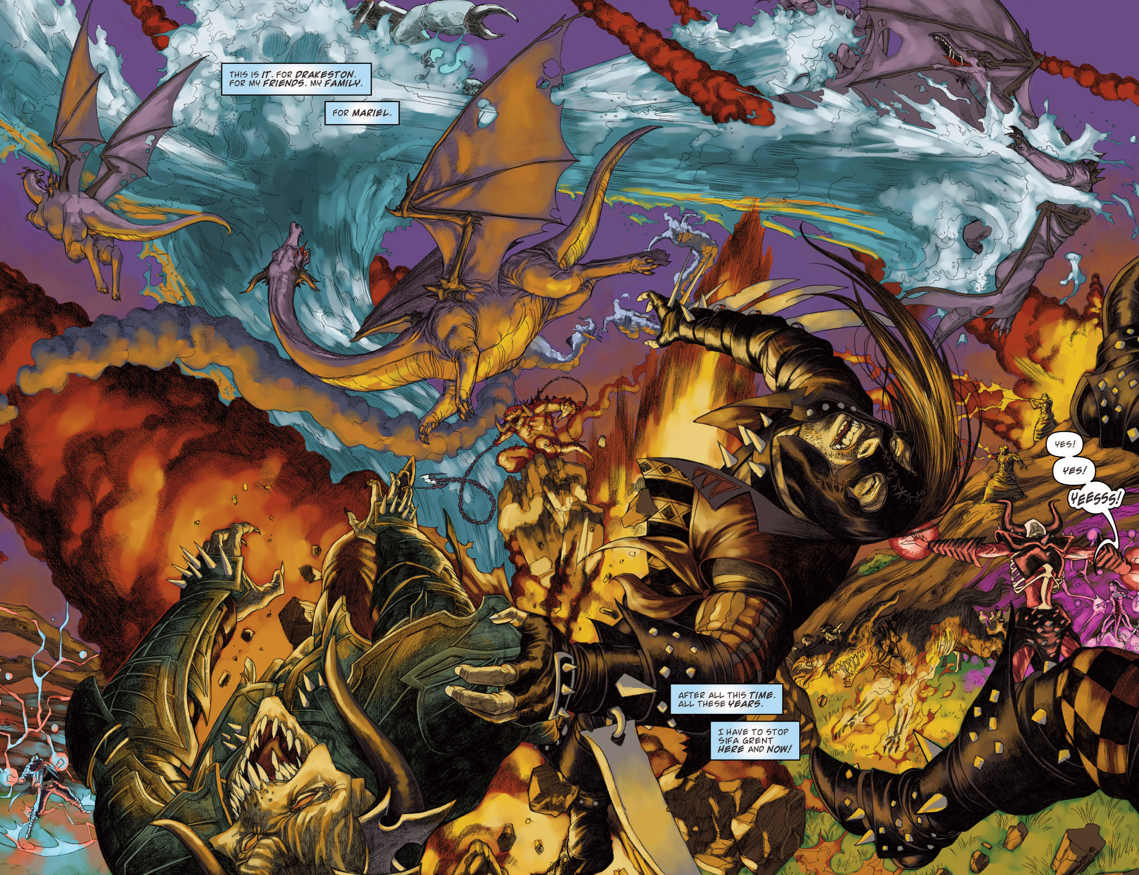 Read online Magic: The Gathering--Path of Vengeance comic -  Issue #4 - 16