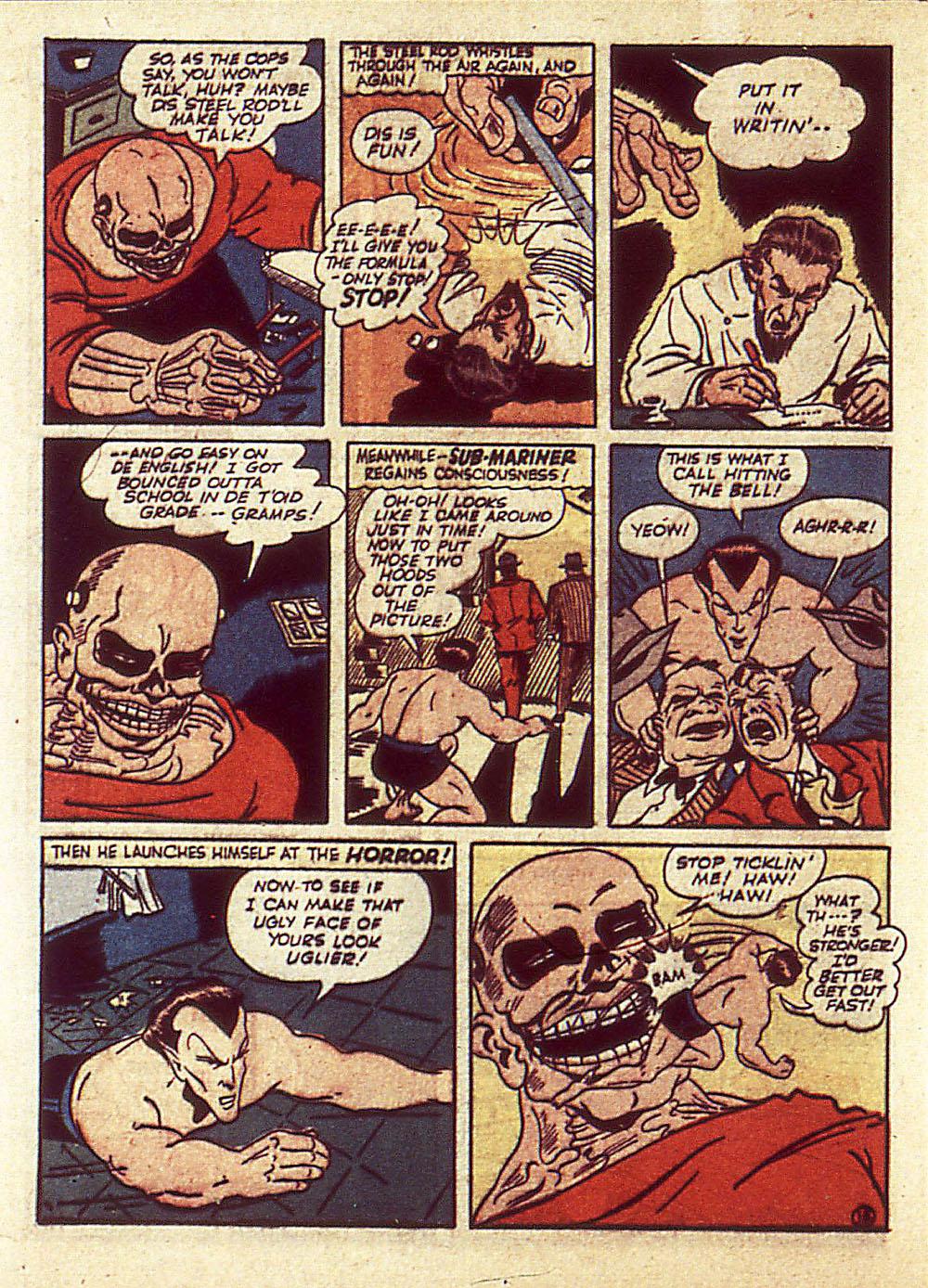 Sub-Mariner Comics Issue #4 #4 - English 39