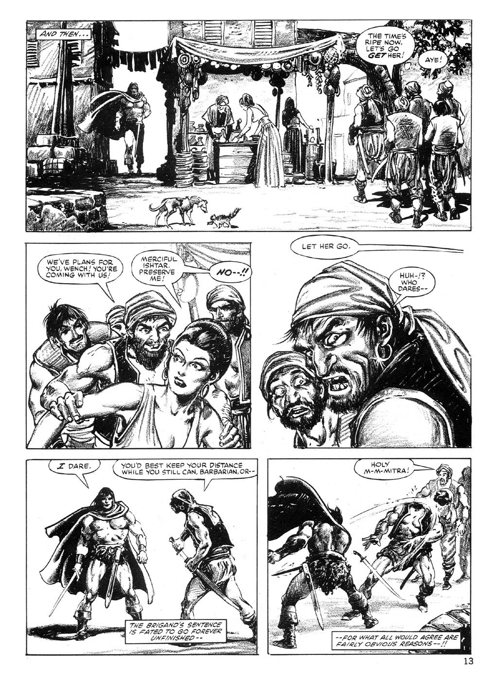 The Savage Sword Of Conan Issue #89 #90 - English 13