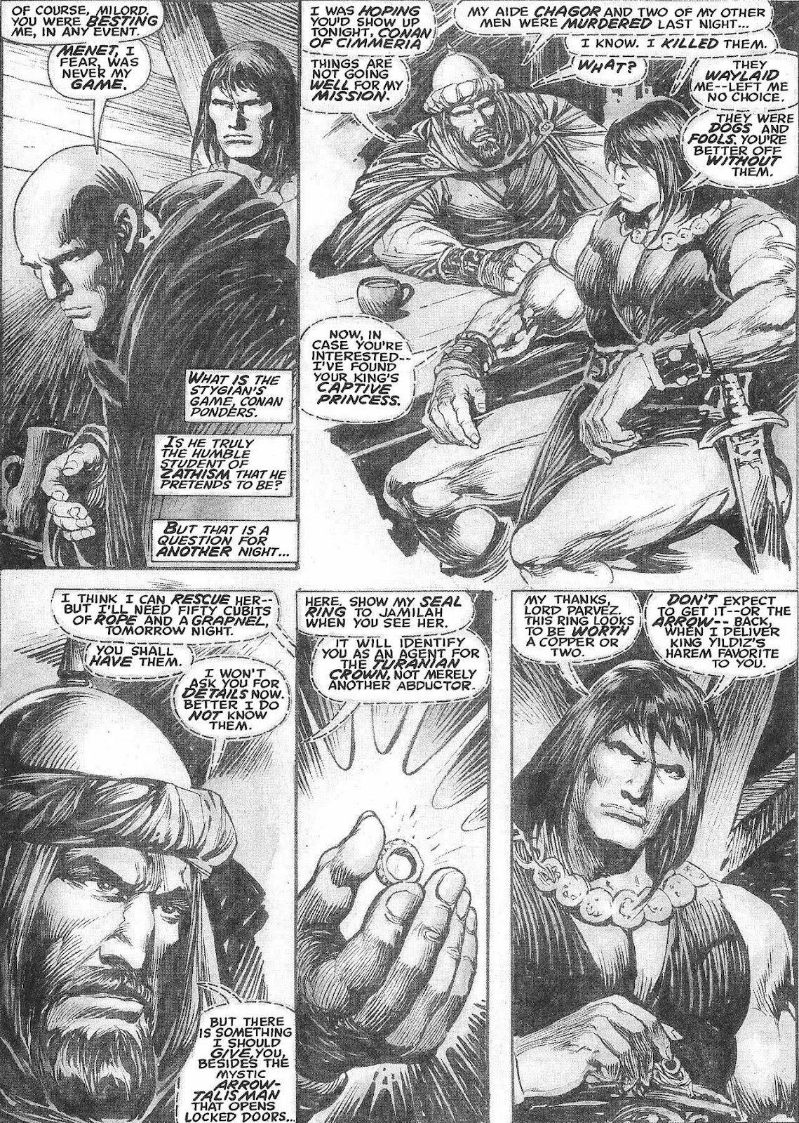 The Savage Sword Of Conan Issue #209 #210 - English 16