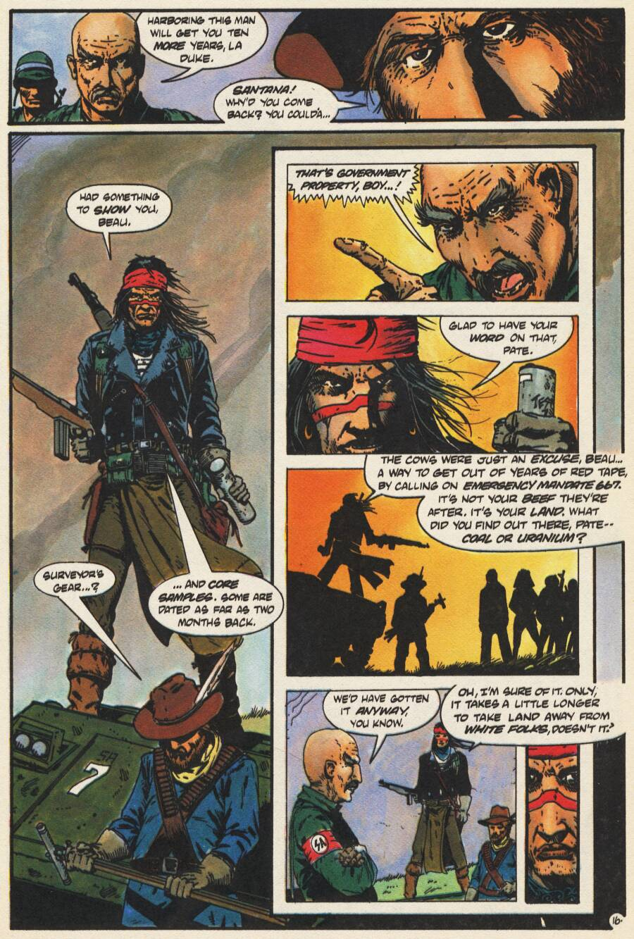 Read online Scout comic -  Issue #10 - 18