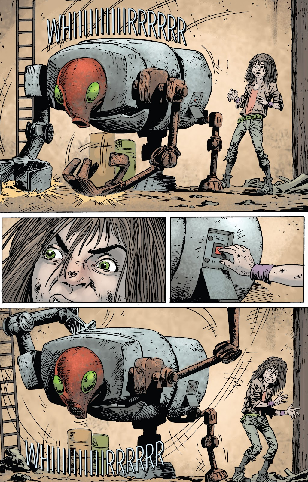 Zombies vs Robots (2015) Issue #1 Page 22