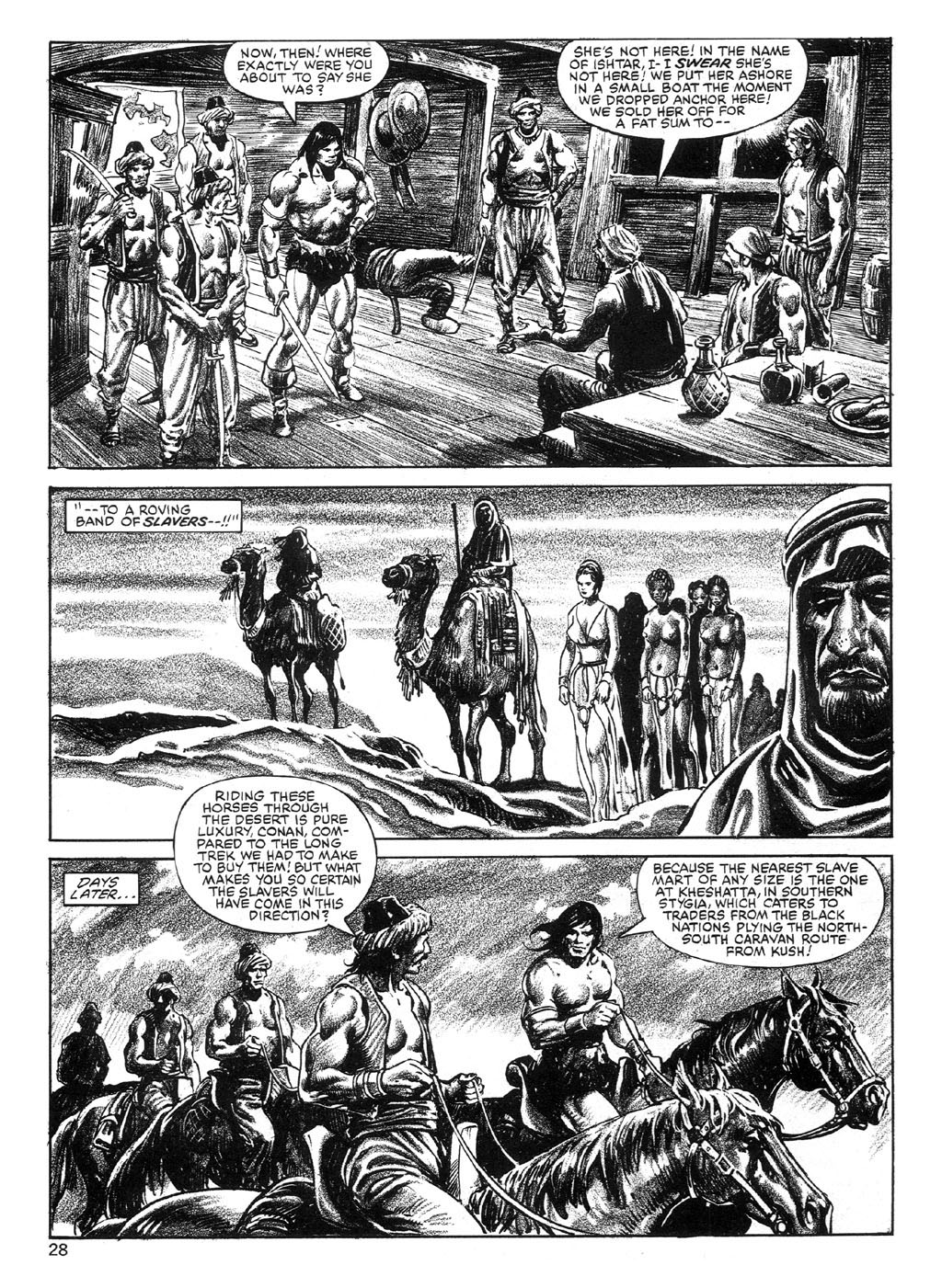 The Savage Sword Of Conan Issue #89 #90 - English 28