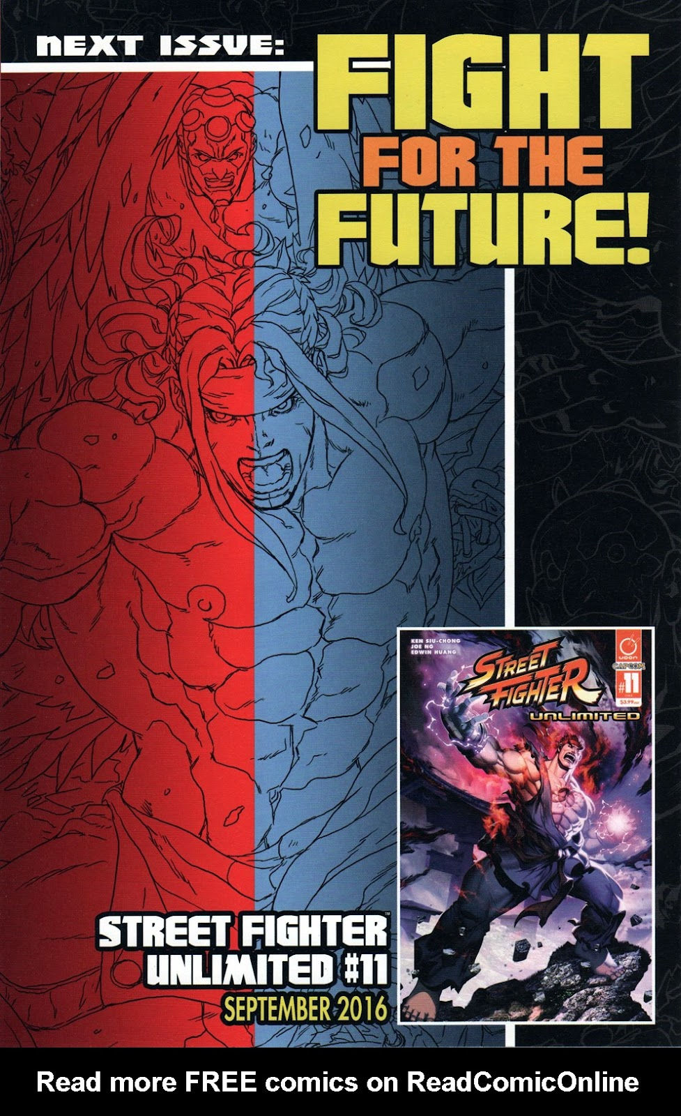 Street Fighter Unlimited Issue #10 #12 - English 27