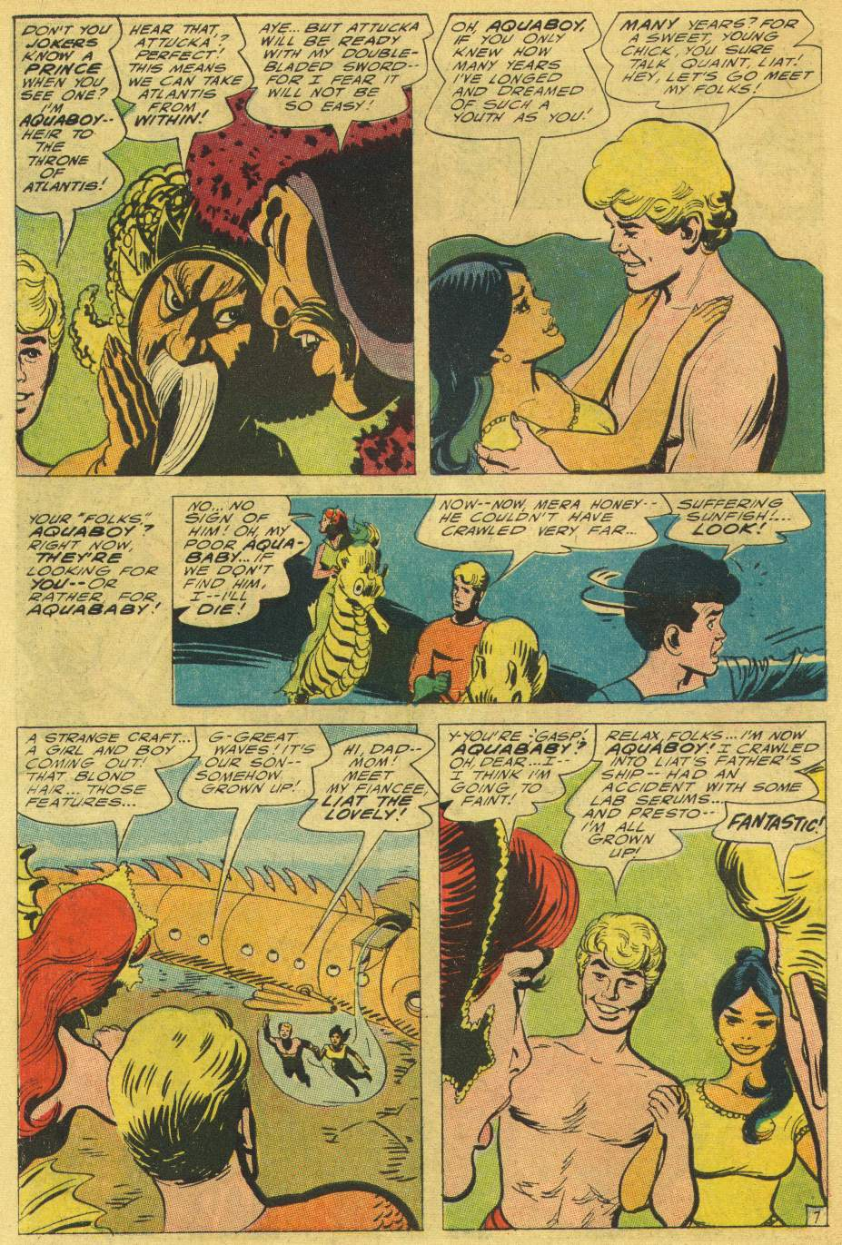 Aquaman (1962) Issue #25 #25 - English 10
