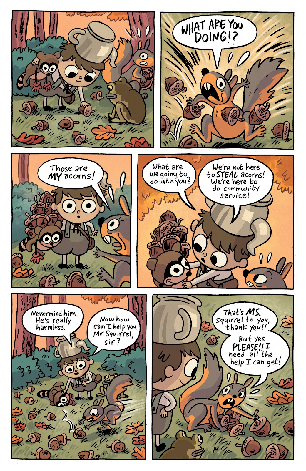 Over the Garden Wall (2016) Issue #2 #2 - English 5