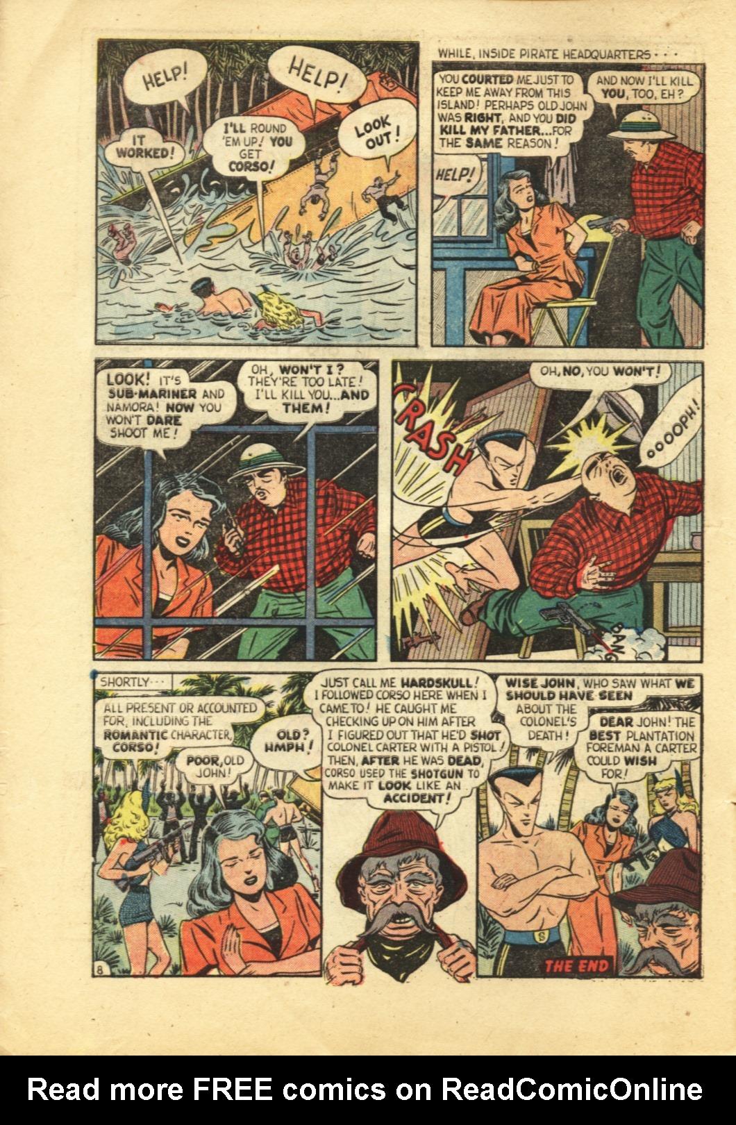 Sub-Mariner Comics #29 #29 - English 9