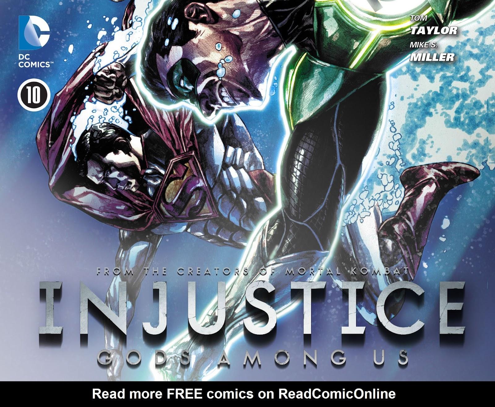 Injustice: Gods Among Us [I] Issue #10 #11 - English 1