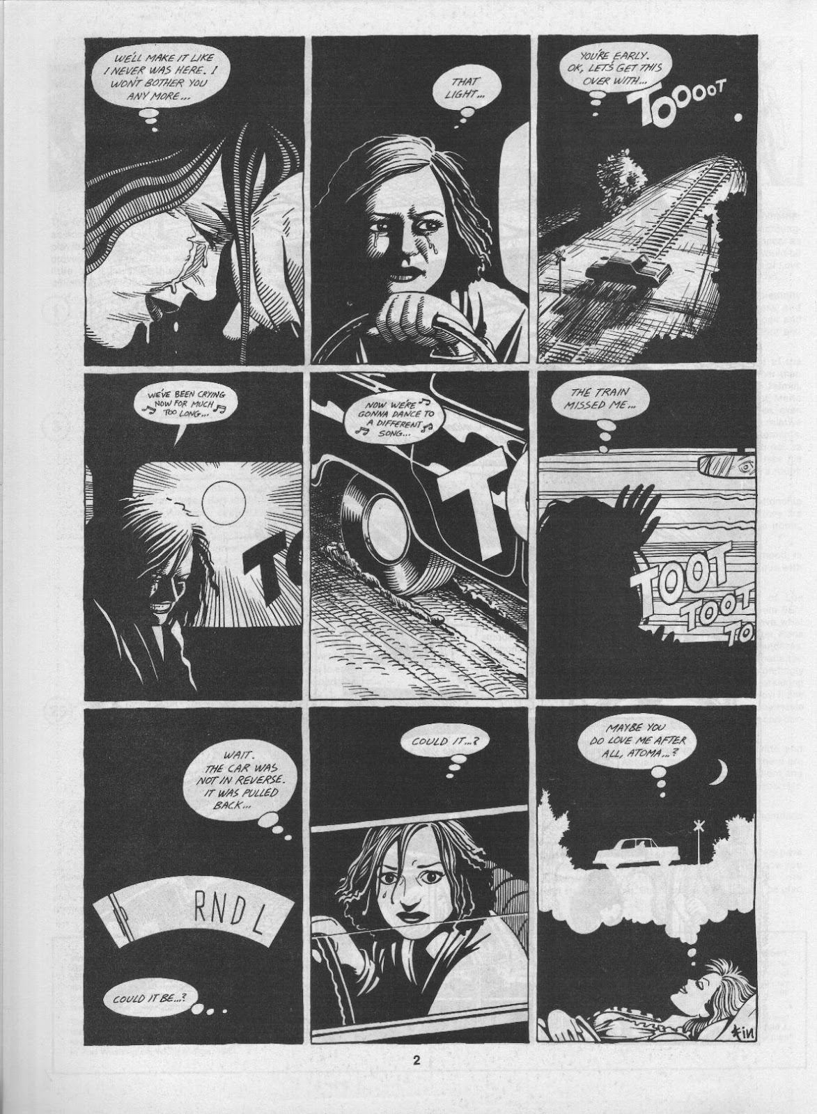 Love and Rockets (1982) Issue #3 #2 - English 4
