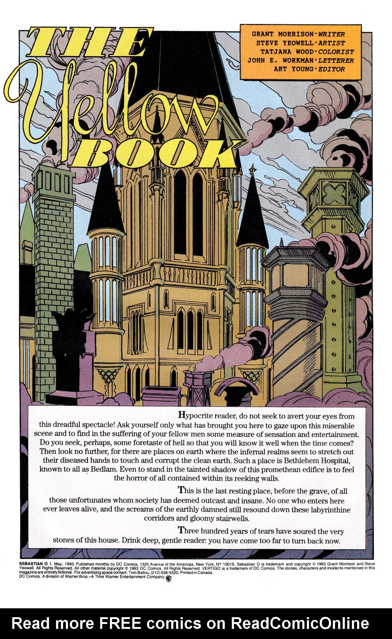 Read online Sebastian O comic -  Issue #1 - 3