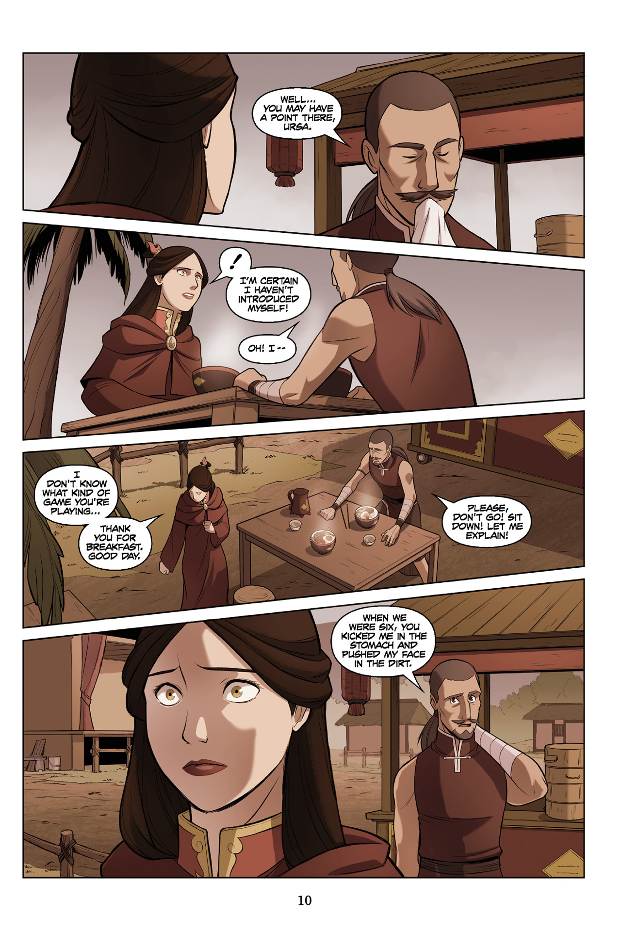 Read online Nickelodeon Avatar: The Last Airbender - The Search comic -  Issue # Part 3 - 11