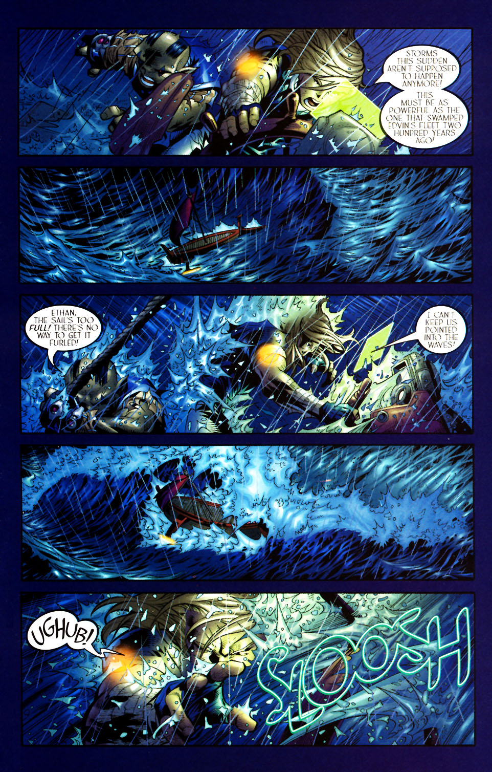 Read online Scion comic -  Issue #5 - 7