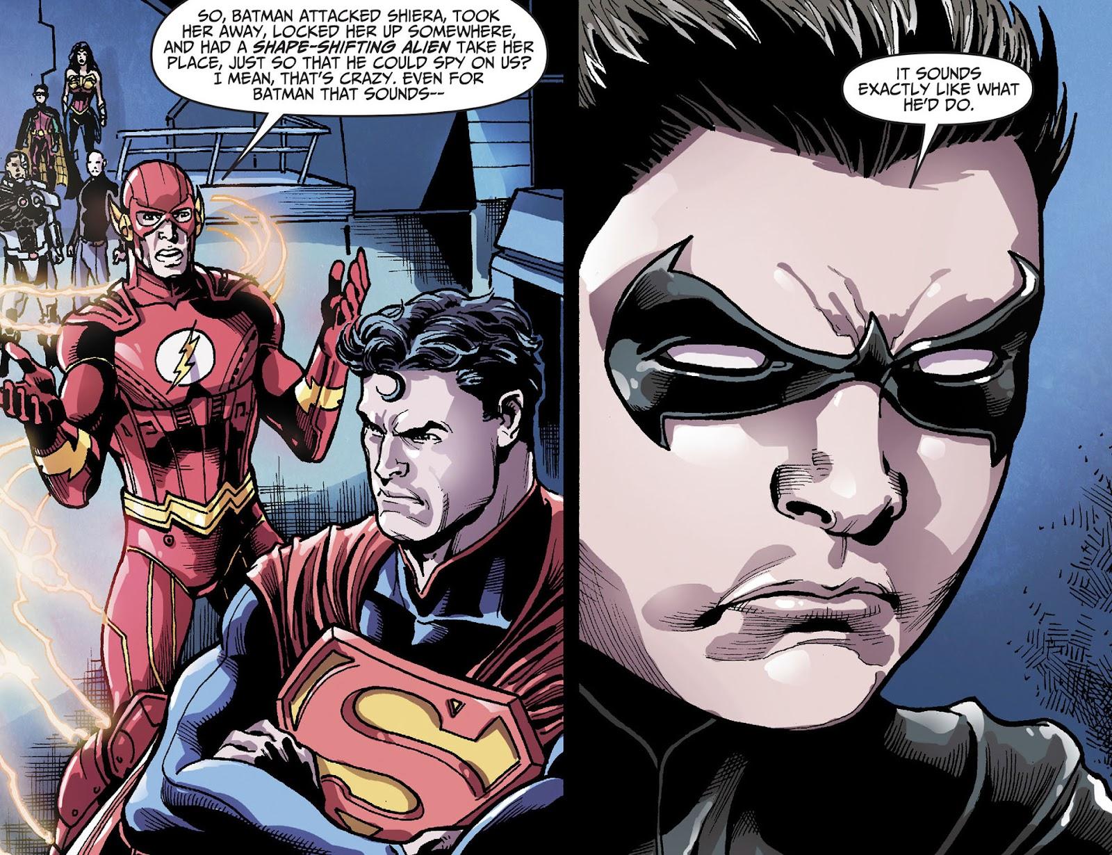 Injustice: Gods Among Us [I] Issue #28 #29 - English 4