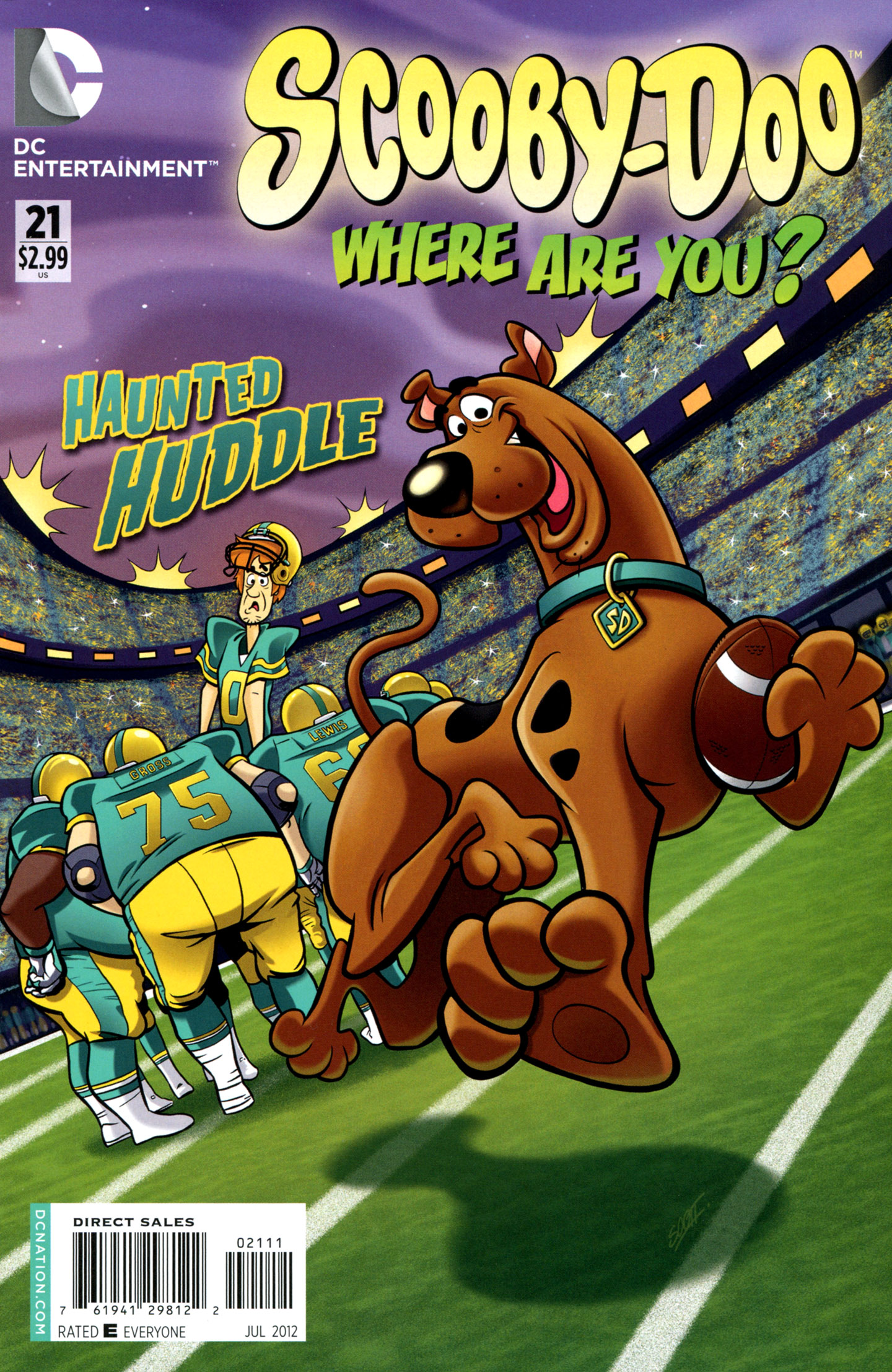 Read online Scooby-Doo: Where Are You? comic -  Issue #21 - 1