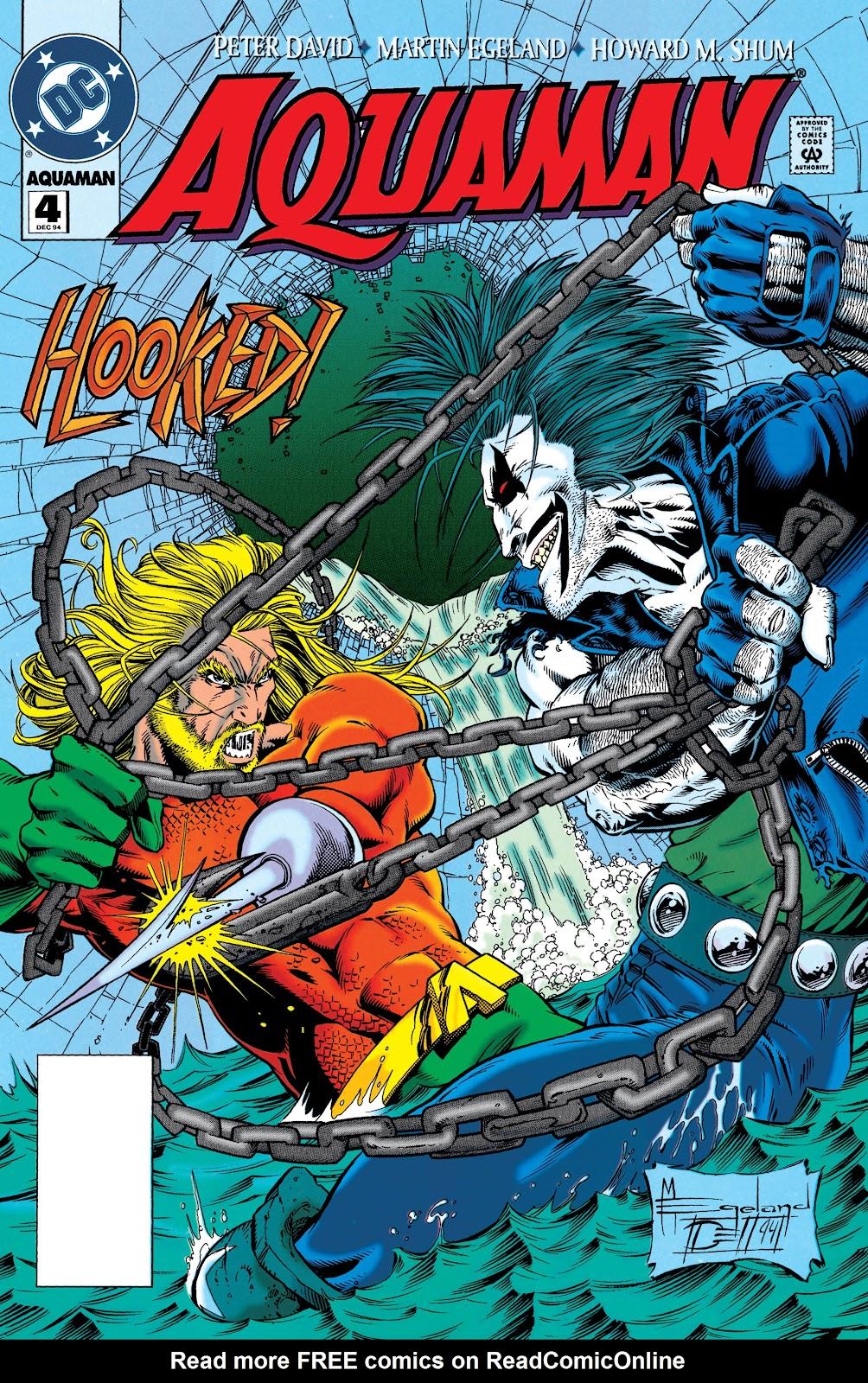 Aquaman (1994) Issue #4 #10 - English 1