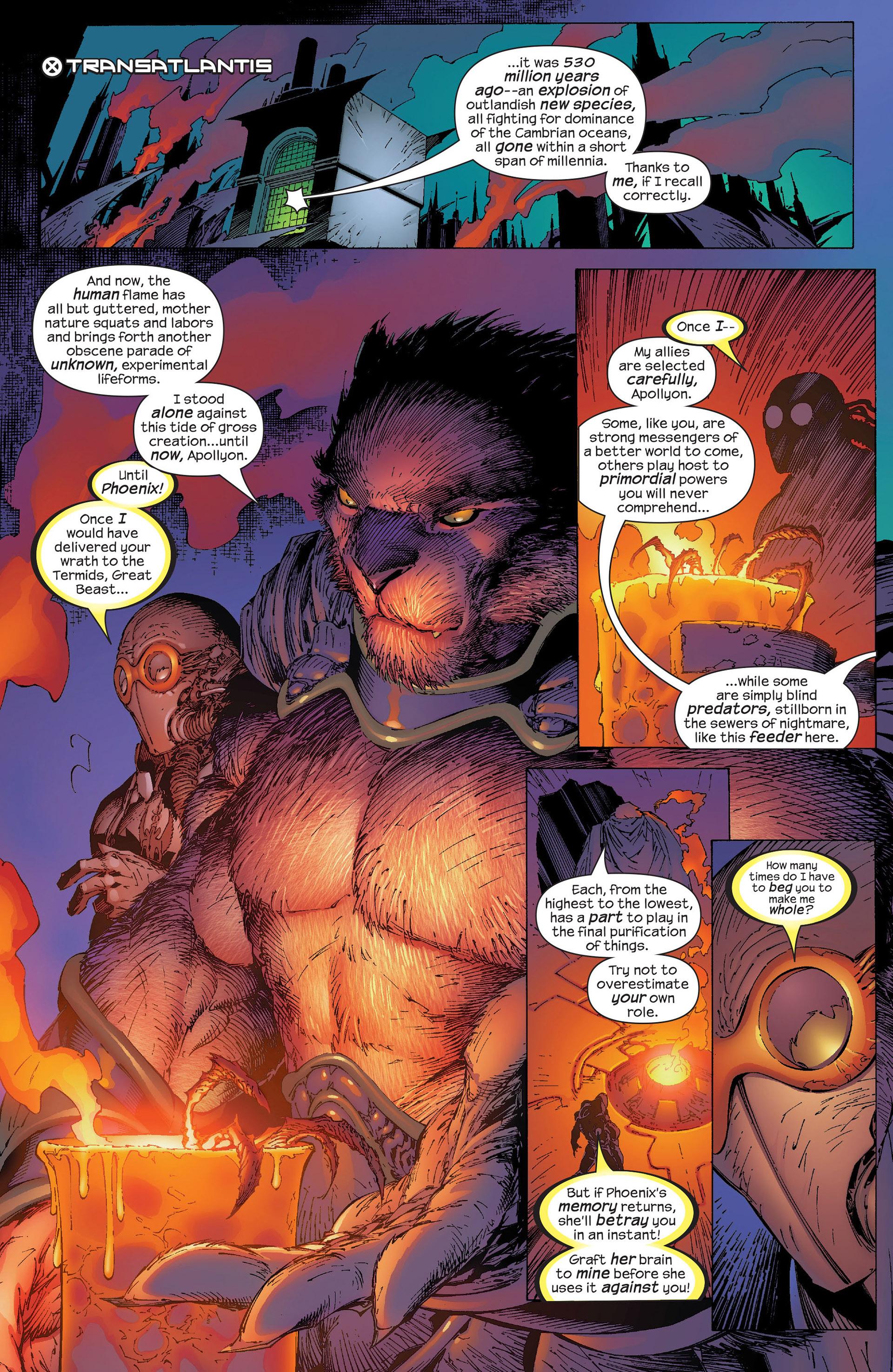 Read online New X-Men (2001) comic -  Issue #153 - 6