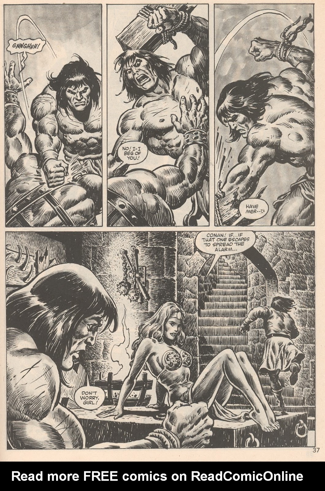 The Savage Sword Of Conan Issue #104 #105 - English 37