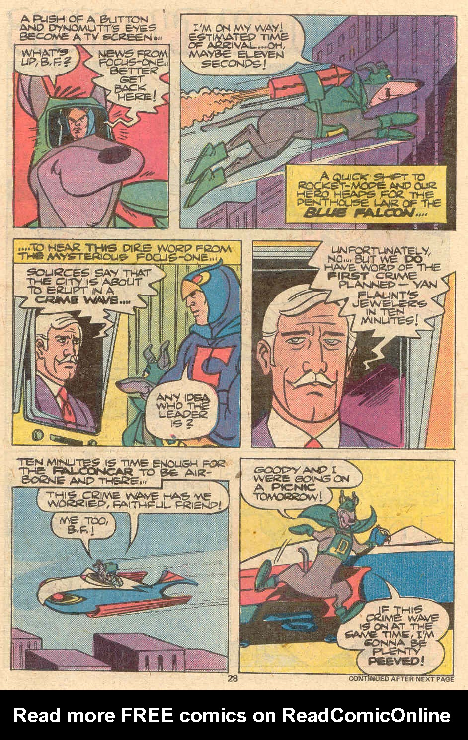 Read online Scooby-Doo (1977) comic -  Issue #1 - 19