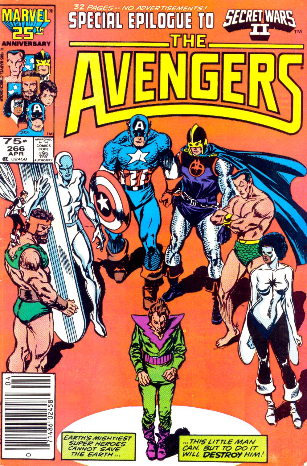 The Avengers (1963) 266 Page 1
