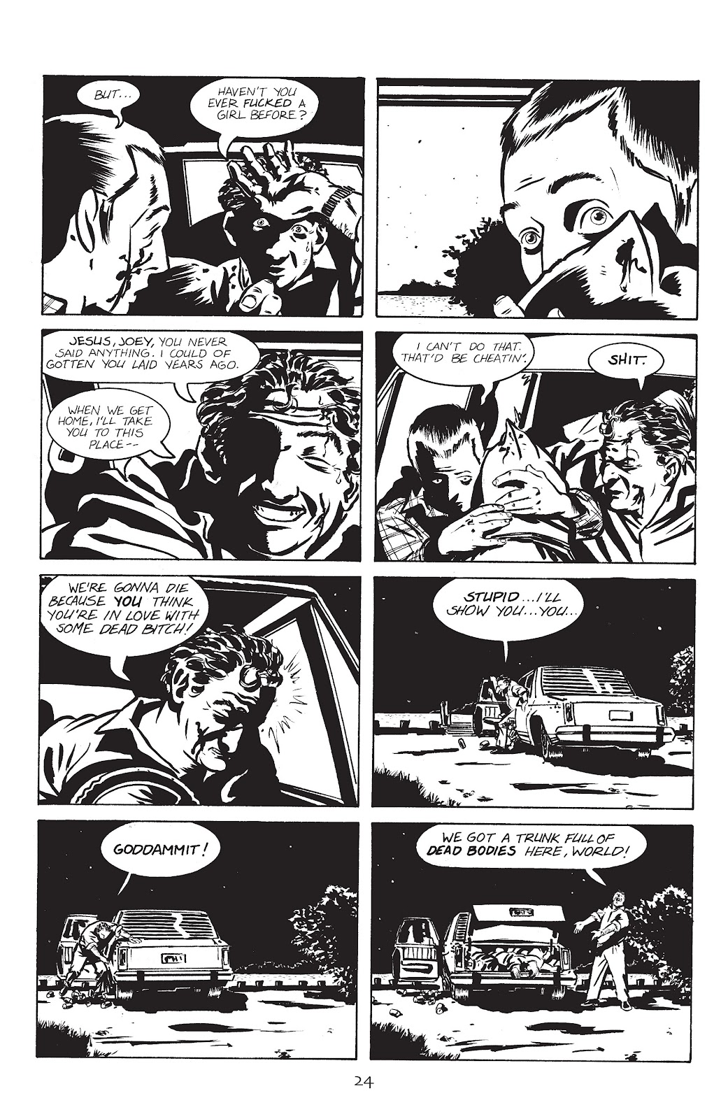 Stray Bullets Issue #1 #1 - English 27