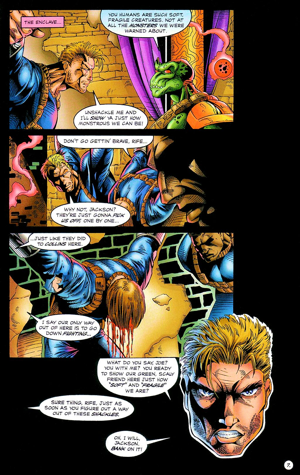 Read online The Others comic -  Issue #2 - 8