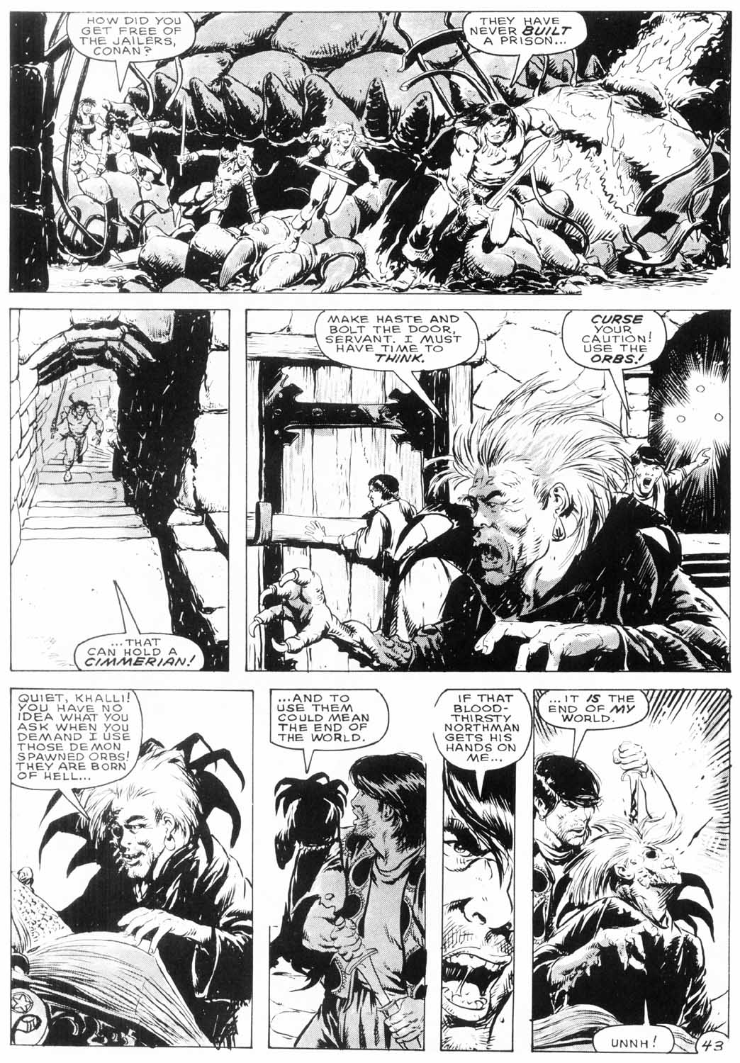 The Savage Sword Of Conan Issue #154 #155 - English 44