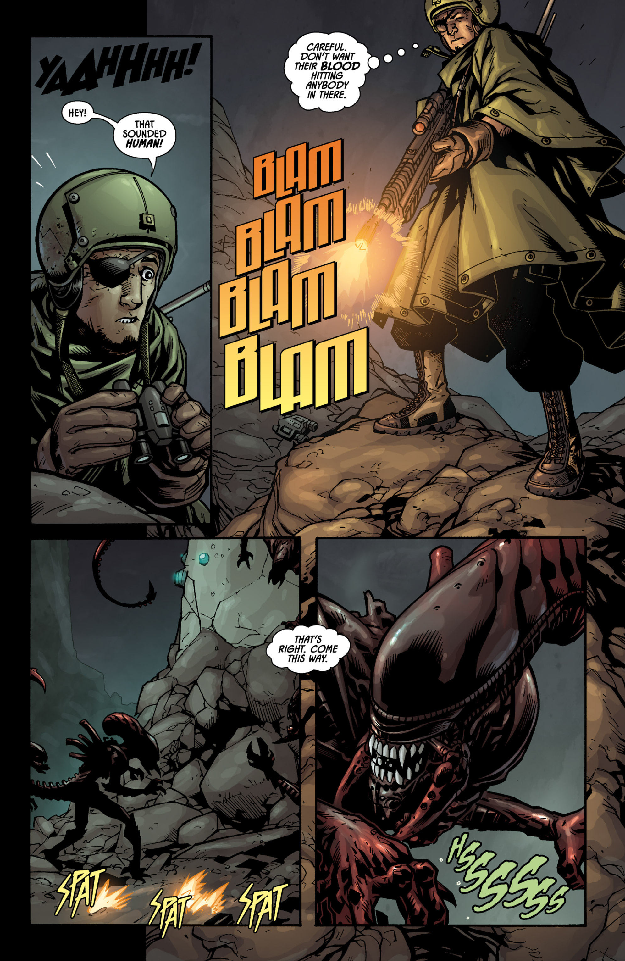 Aliens (2009) TPB Page 49