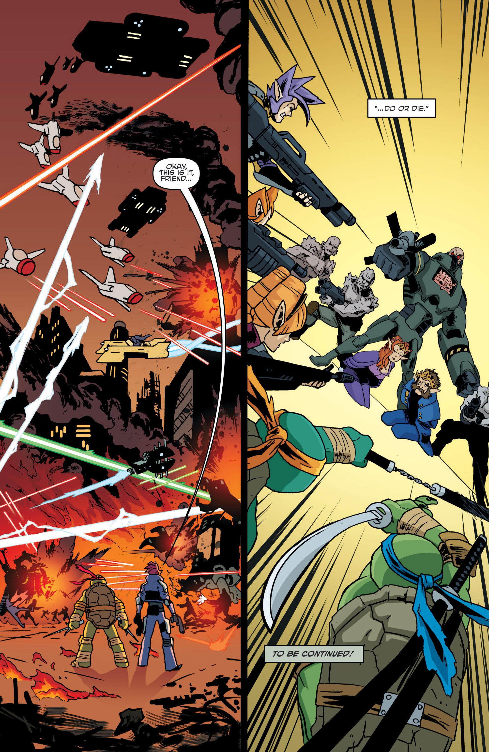 Read online Teenage Mutant Ninja Turtles (2011) comic -  Issue #19 - 25