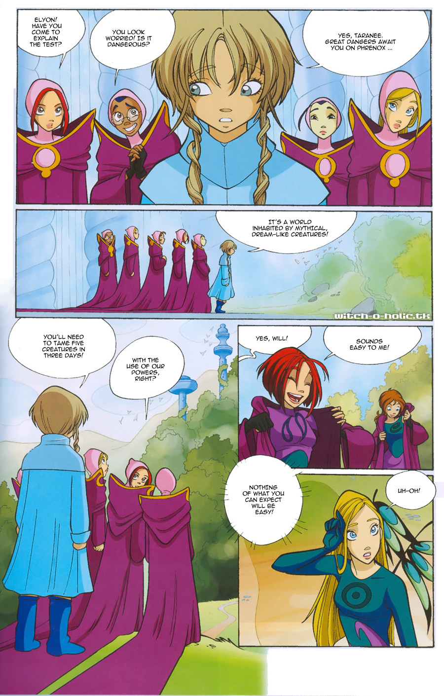 Read online W.i.t.c.h. comic -  Issue #135 - 5