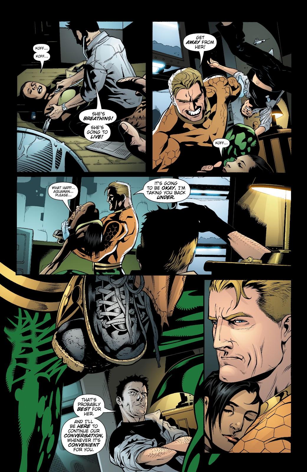 Aquaman (2003) Issue #19 #19 - English 22
