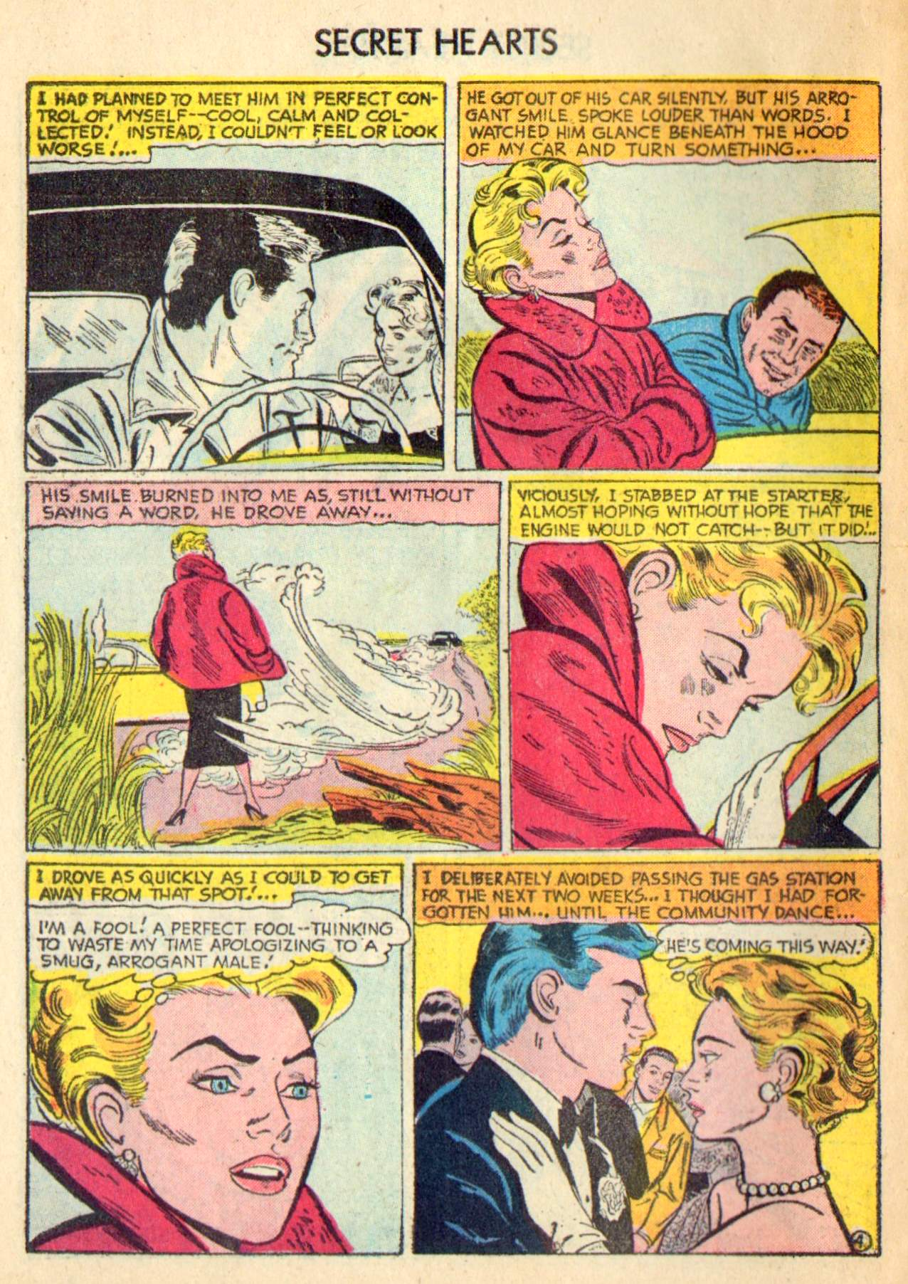 Read online Secret Hearts comic -  Issue #31 - 30