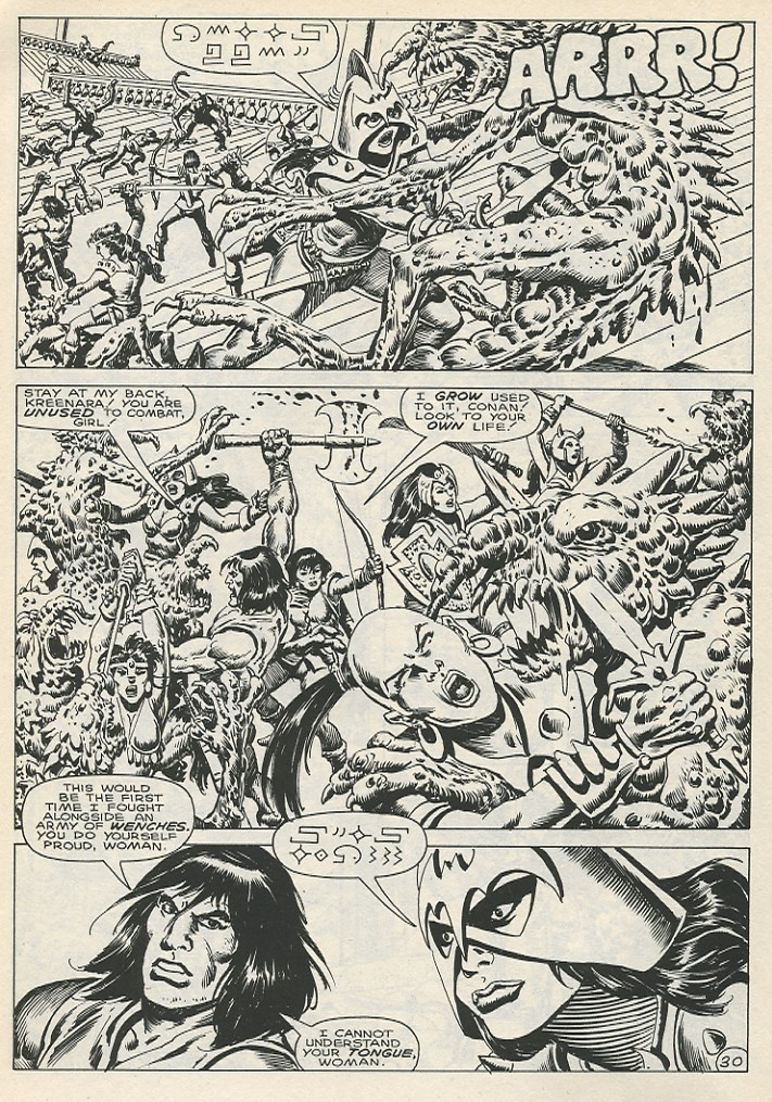 The Savage Sword Of Conan Issue #141 #142 - English 36
