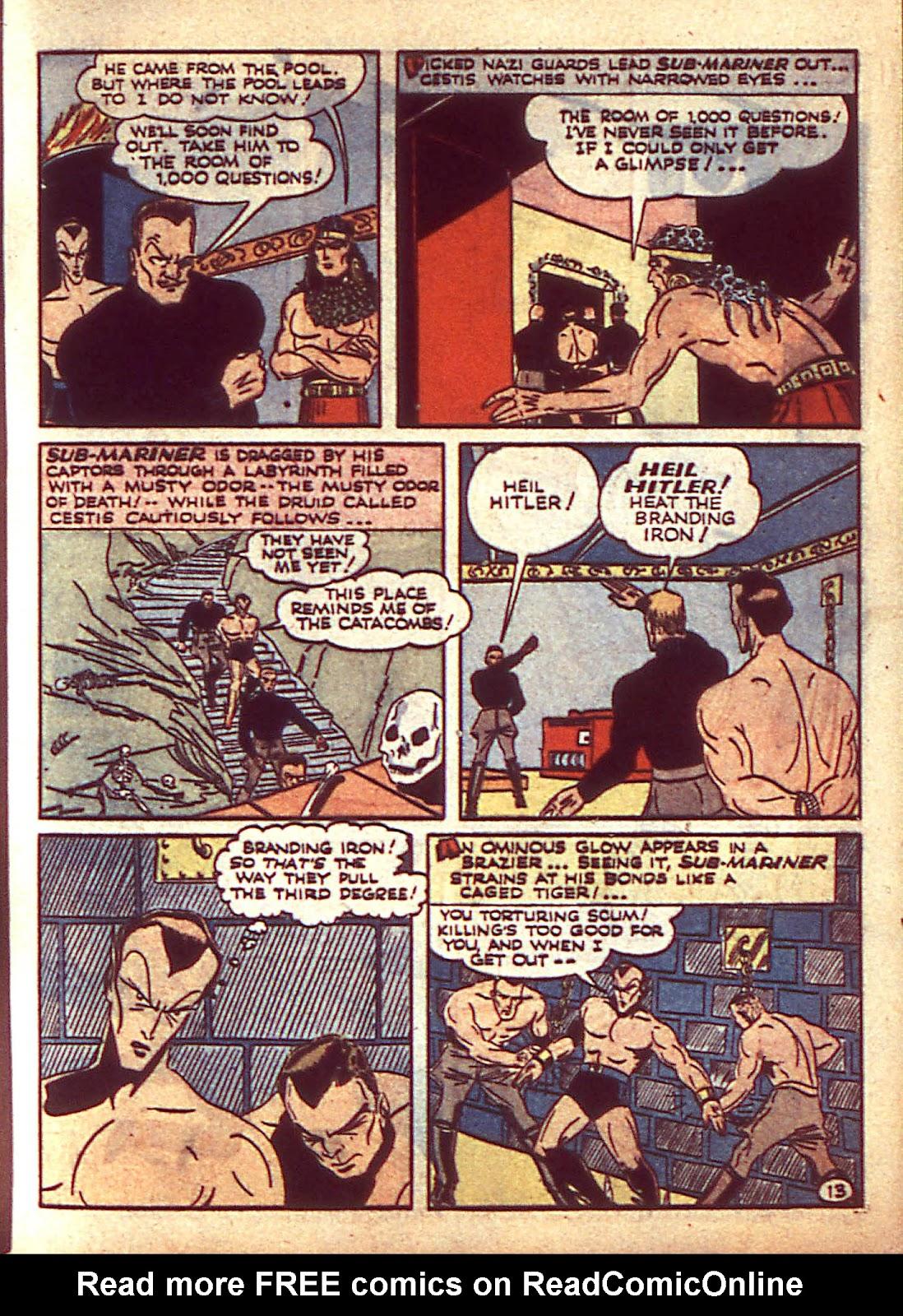 Sub-Mariner Comics Issue #3 #3 - English 16