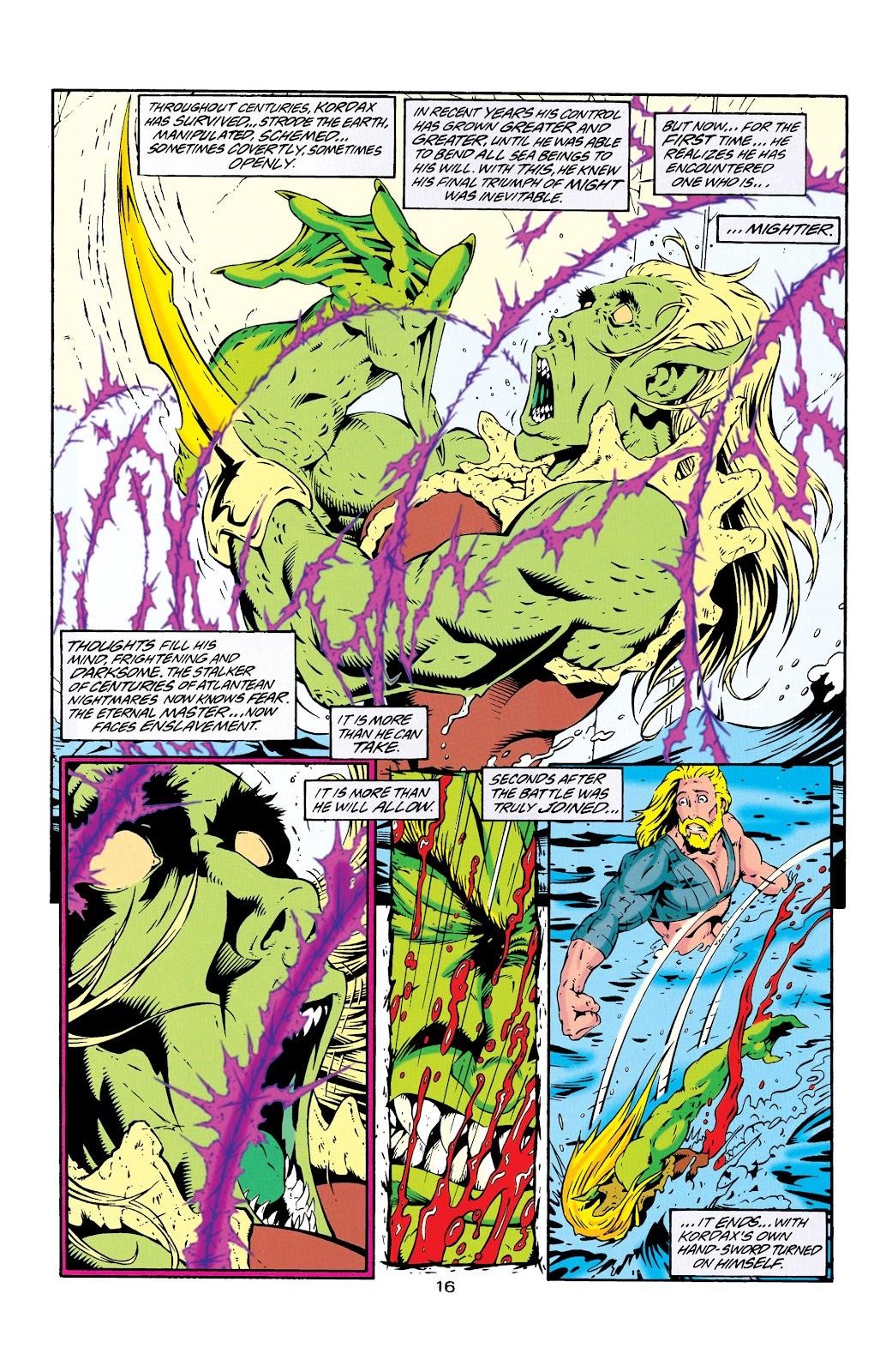 Aquaman (1994) Issue #25 #31 - English 17