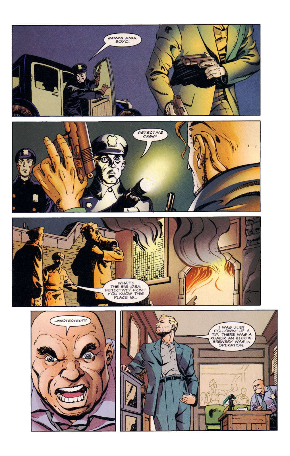 Read online Wild Times: Grifter comic -  Issue # Full - 6