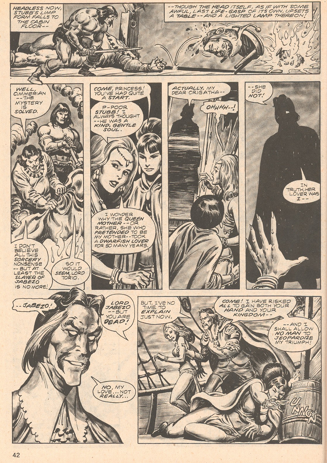 The Savage Sword Of Conan Issue #66 #67 - English 42