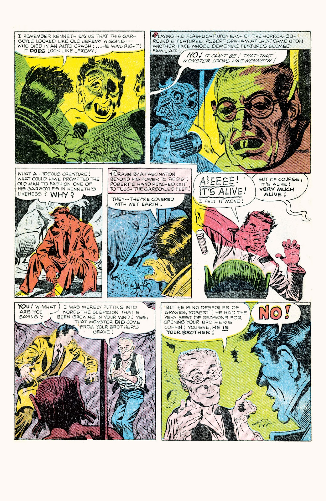 Haunted Horror Issue #9 #9 - English 45